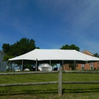 White Pole Tents for Wedding and Events in Kansas City